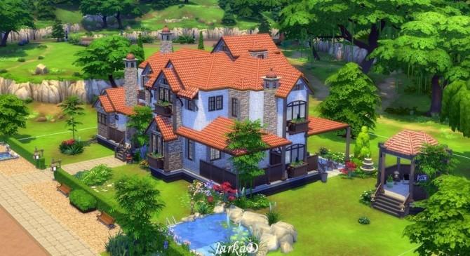 Sims 4 Provence house No.1 at JarkaD Sims 4 Blog