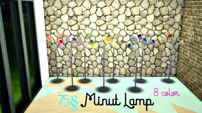 Sims 4 Floor Lamp Set by MissPepe92 at The Sims Lover