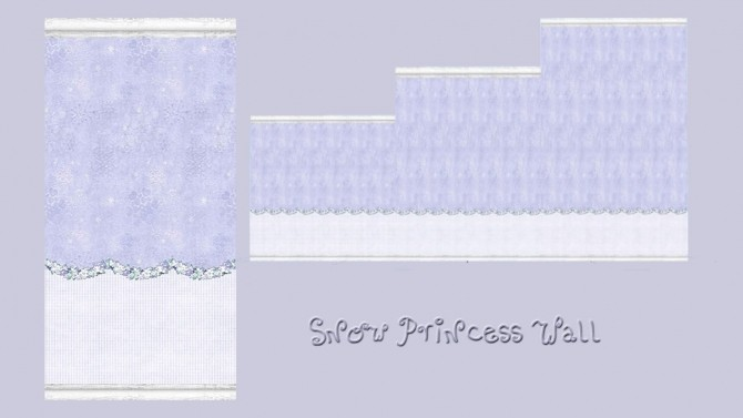 SNOW PRINCESS deco set at Alelore Sims Blog image 641 670x377 Sims 4 Updates