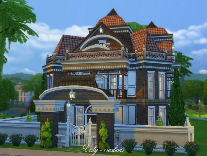 Valentina villa by Vista 6 at Visty Creations image 649 670x504 Sims 4 Updates