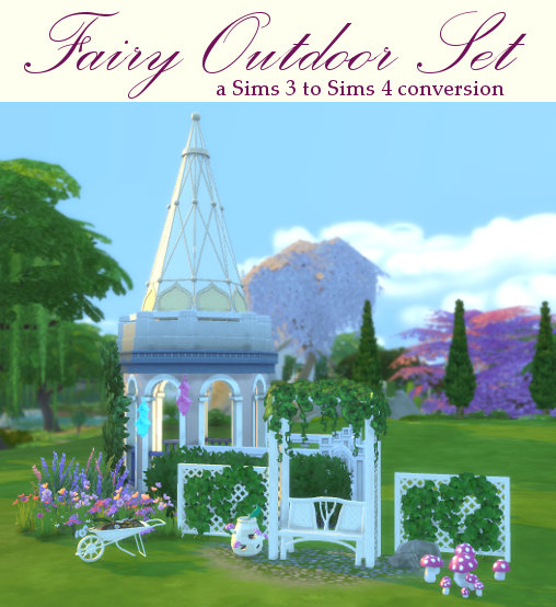 Fairy Outdoor Set at Leander Belgraves image 6523 Sims 4 Updates