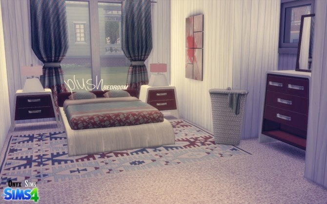 Plush Bedroom Set by Kiara Rawks at Onyx Sims image 673 670x418 Sims 4 Updates