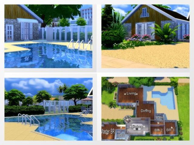 Sims 4 The Umatilla 2 house by Oldbox at All 4 Sims