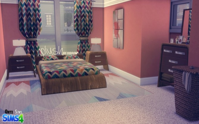 Plush Bedroom Set by Kiara Rawks at Onyx Sims image 683 670x418 Sims 4 Updates
