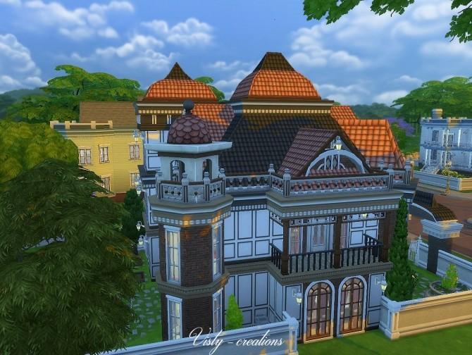 Sims 4 Valentina villa by Vista 6 at Visty Creations
