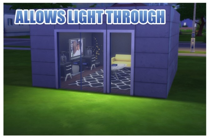 Sims 4 Fix for Simple Glass Double Door and Stark Front Door by Menaceman44 at Mod The Sims