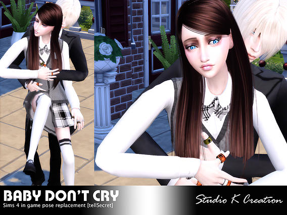 Sims 4 Baby Dont Cry Couples Poses at Studio K Creation