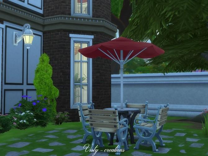 Valentina villa by Vista 6 at Visty Creations image 698 670x504 Sims 4 Updates