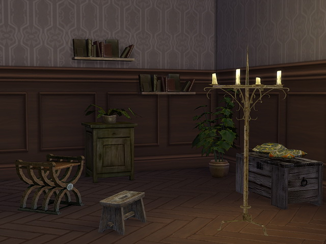 Sims 4 Dinner Time 2T4 conversion set by Kresten 22 at Sims Fans
