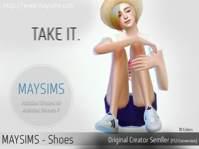 Sneakers conversion at May Sims image 71101 670x503 Sims 4 Updates