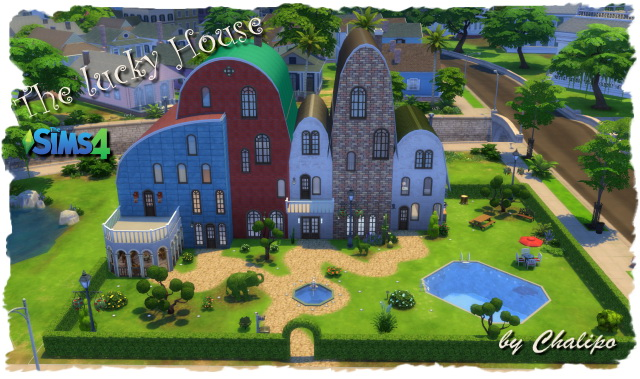 The lucky House by Chalipo at All 4 Sims image 7125 Sims 4 Updates