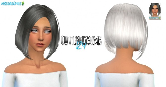 3 hair retextures at Nessa Sims image 715 670x351 Sims 4 Updates