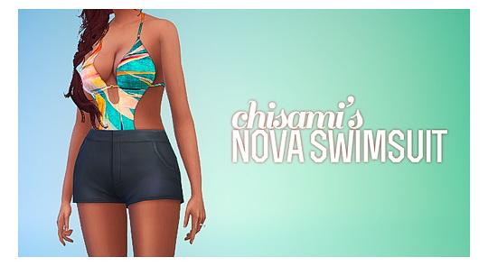 Sims 4 NOVA Swimsuit at Chisami