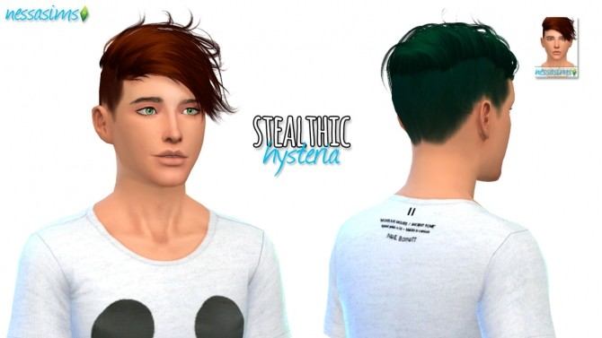 3 hair retextures at Nessa Sims image 722 670x377 Sims 4 Updates