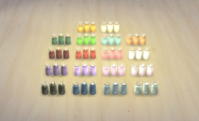 Glass Jar Candles at Omorfi Mera image 735 670x410 Sims 4 Updates