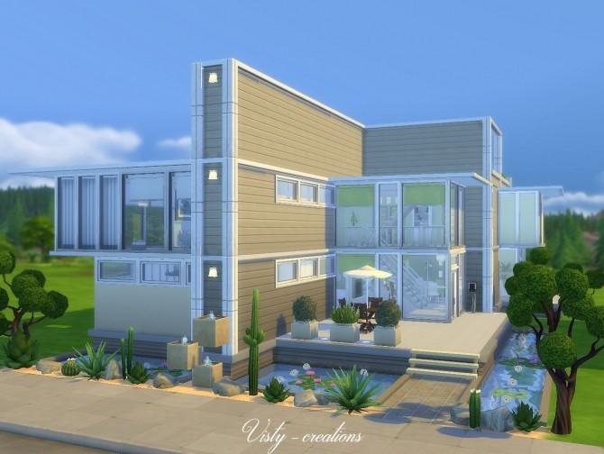 Sims 4 Modern life hose by Vista at Visty Creations