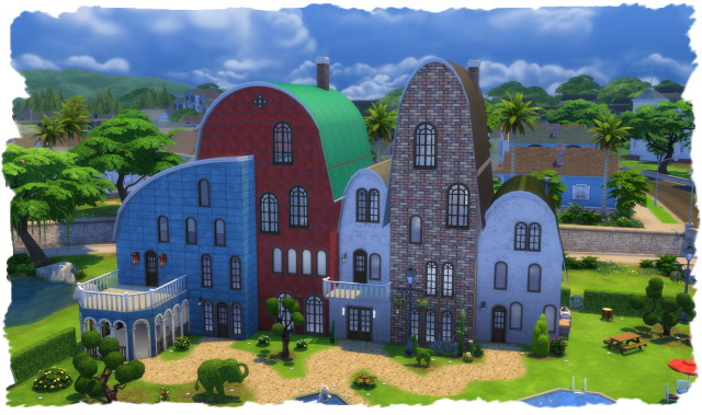 The lucky House by Chalipo at All 4 Sims image 7420 Sims 4 Updates
