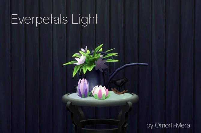 Everpetals Light at Omorfi Mera image 745 670x445 Sims 4 Updates