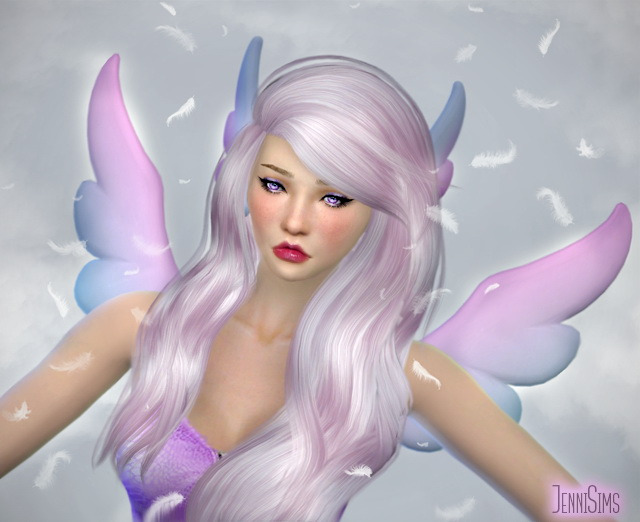 Wings and Ears at Jenni Sims » Sims 4 Updates Reindeer Antlers Headband