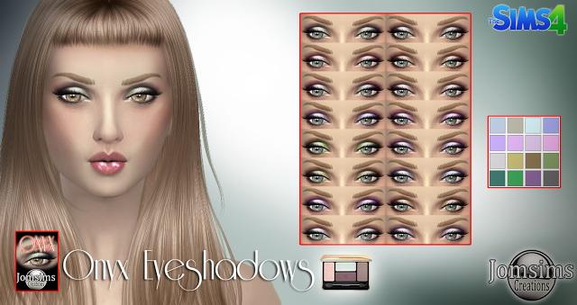 Sims 4 Onyx eyeshadows at Jomsims Creations