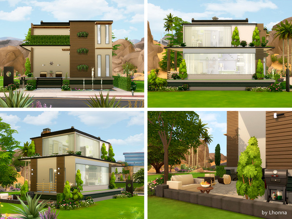 Eco Line 1.0 house by Lhonna at TSR image 770 Sims 4 Updates