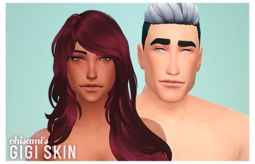 Sims 4 GIGI skin at Chisami