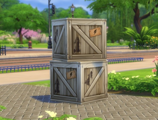 Stackable Crate by plasticbox at Mod The Sims image 7918 670x510 Sims 4 Updates