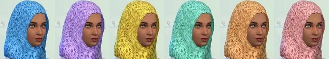 Patterned Hijabs at Annachibi's Sims image 8010 670x120 Sims 4 Updates