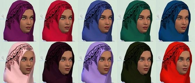 Patterned Hijabs at Annachibi's Sims image 8114 670x287 Sims 4 Updates