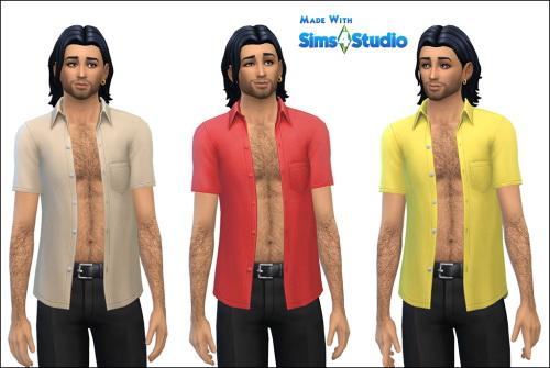 Sims 4 Patio Stuff Shirt Edited at Julietoon – Julie J