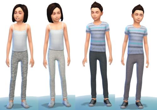 Sims 4 4 grey sweatpants at Belle's Simblr