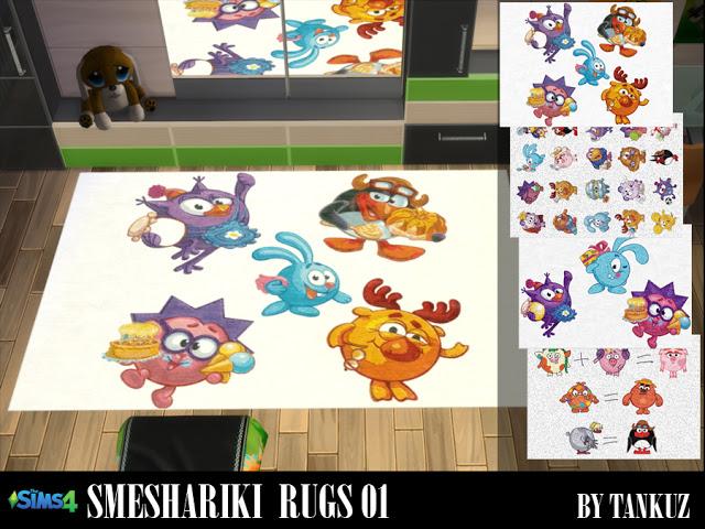 Smeshariki Rugs 01 at Tankuz Sims4 image 8213 Sims 4 Updates