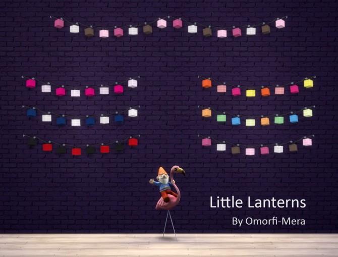 Little Lanterns Wall Lights at Omorfi Mera image 825 670x509 Sims 4 Updates