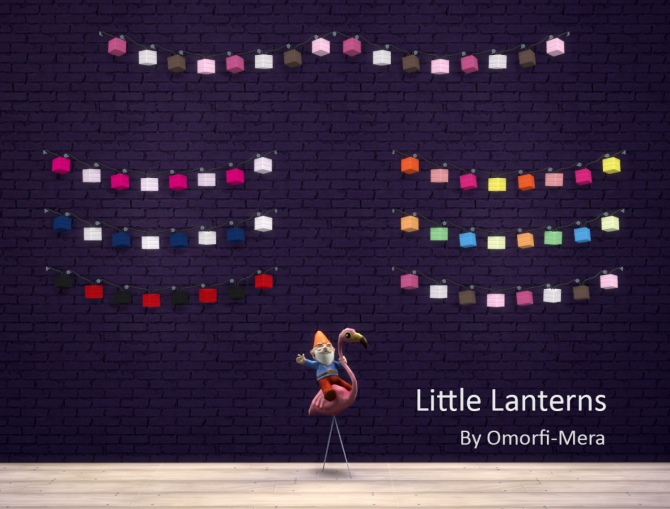 Little Lanterns Wall Lights At Omorfi Mera 187 Sims 4 Updates