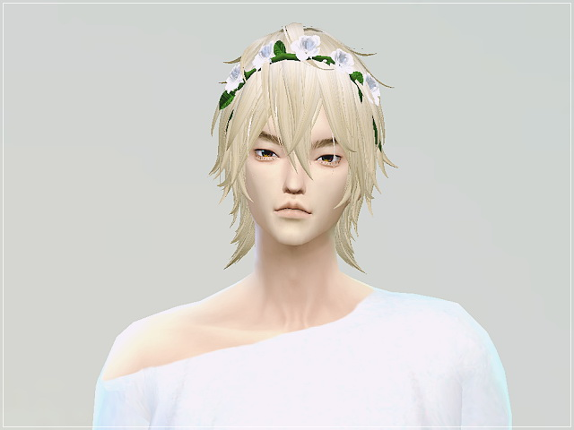 Sims 4 Male rose crown at Marigold