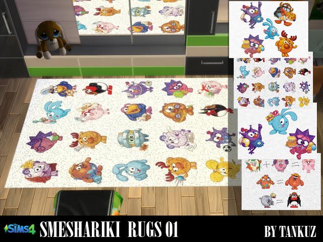 Smeshariki Rugs 01 at Tankuz Sims4 image 8313 Sims 4 Updates