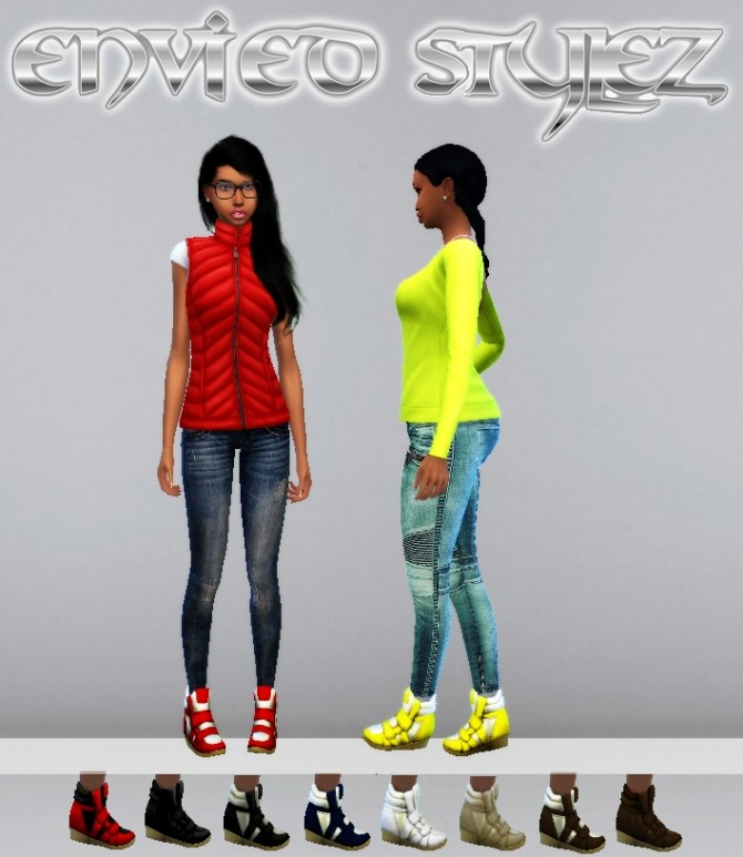 Hilight Sneaker Wedge by MzEnvy20 at Mod The Sims image 8321 670x773 Sims 4 Updates