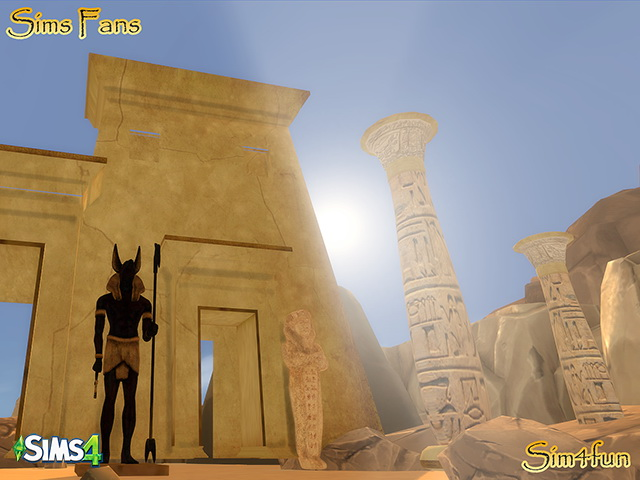 Egyptian Stuff By Sim4fun At Sims Fans 187 Sims 4 Updates