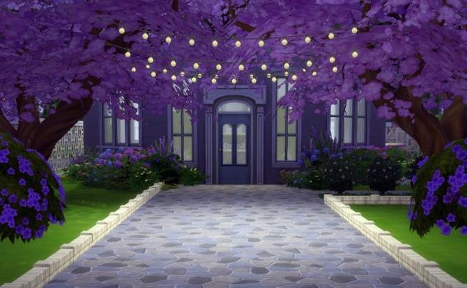 String of Inspiration lights at Omorfi Mera image 835 670x414 Sims 4 Updates