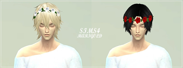 Male rose crown at Marigold image 837 Sims 4 Updates