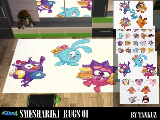Smeshariki Rugs 01 at Tankuz Sims4 image 8412 Sims 4 Updates