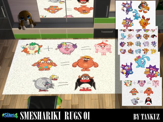Smeshariki Rugs 01 at Tankuz Sims4 image 8513 Sims 4 Updates