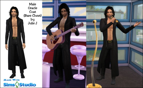 Male Oracle Coat Revisited Now Bare Chested at Julietoon – Julie J image 8520 Sims 4 Updates