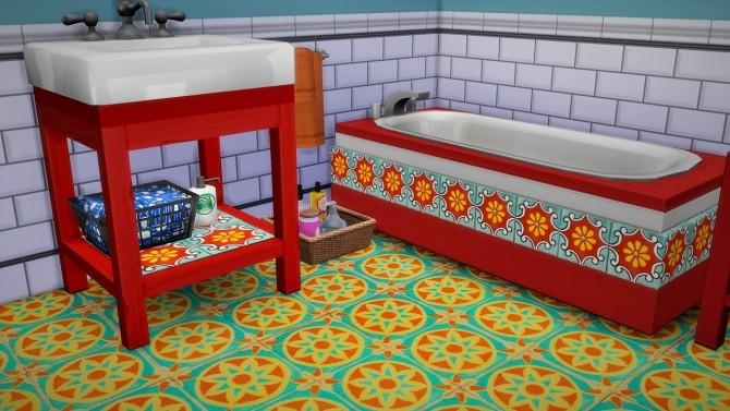 Bathroom Set Daphne at Budgie2budgie image 854 670x377 Sims 4 Updates