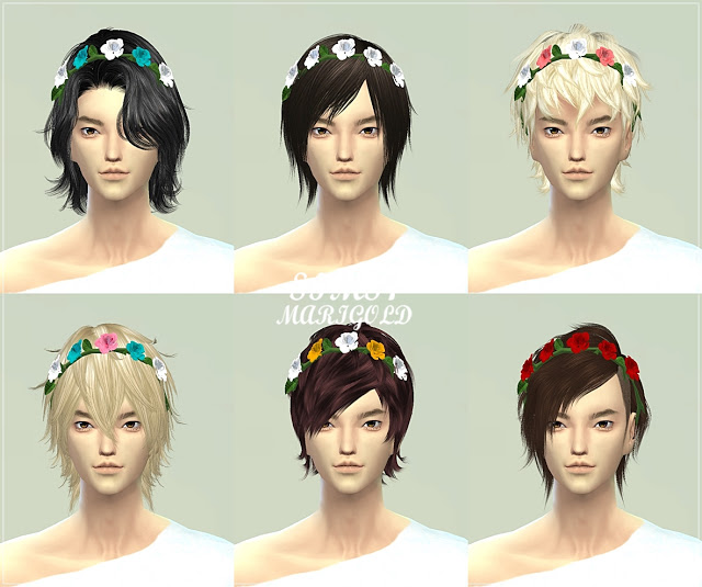 Male rose crown at Marigold image 857 Sims 4 Updates