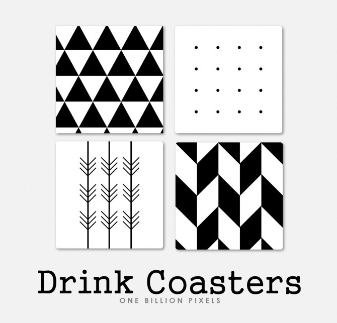 Coaster Drinks by NewOne at One Billion Pixels image 8610 670x643 Sims 4 Updates
