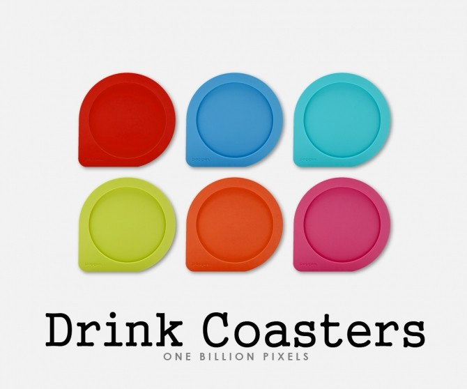 Coaster Drinks by NewOne at One Billion Pixels image 8711 670x558 Sims 4 Updates