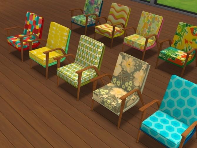 60s chair recolors at Un bichobolita image 873 670x503 Sims 4 Updates