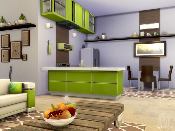 Eco Line 1.0 house by Lhonna at TSR image 880 Sims 4 Updates