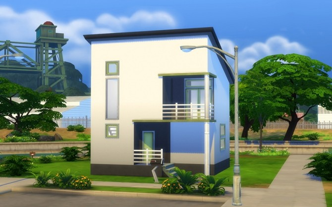 Starter house Zen at ihelensims image 882 670x419 Sims 4 Updates